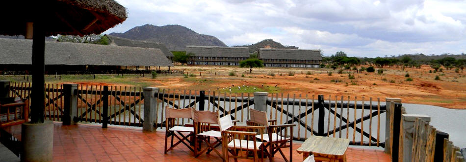 Accommodation in Tsavo East National Park